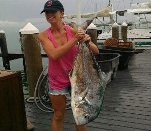 Key West Catch of the Week - 80-Pound Permit
